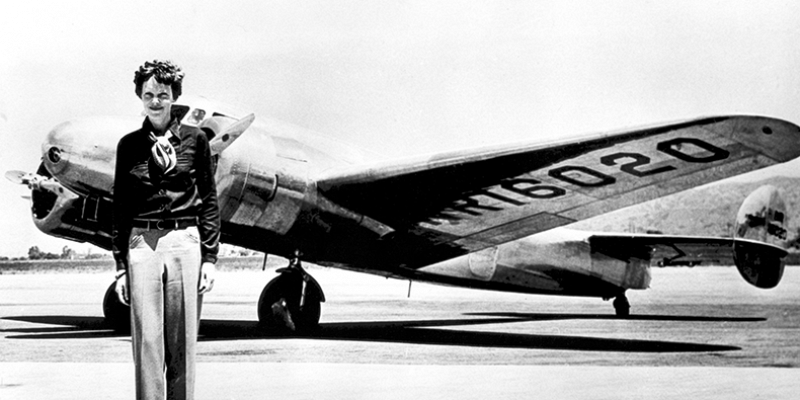 Amelia Earhart: A First-Person Portrayal by Leslie Goddard